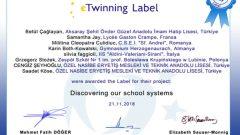 Discovering Our School Systems – (Cengiz ŞEYHOĞLU – Saadet KÖSE)