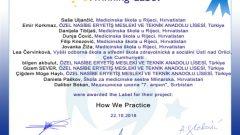 How We Practice ( Emir KORKMAZ- Gizem SEVER – Bilgen AKBULUT – Müge HAYLI )