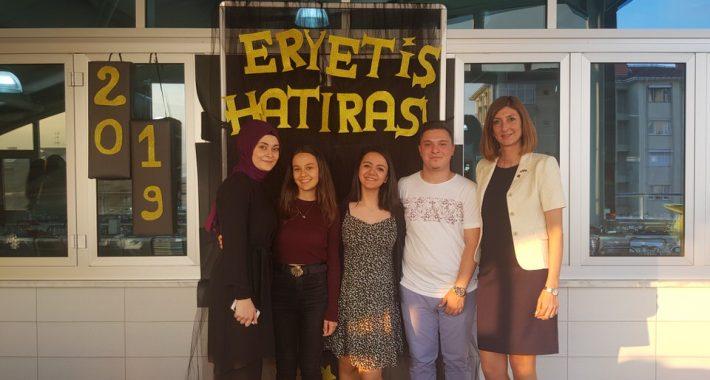 24 Mayıs Cuma günü Özel Nasibe Eryetiş Sağlık Meslek Lisesi mezunlarıyla buluştu.