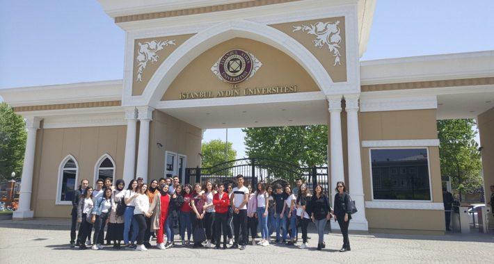 İstanbul Aydın Üniversitesi Gezisi