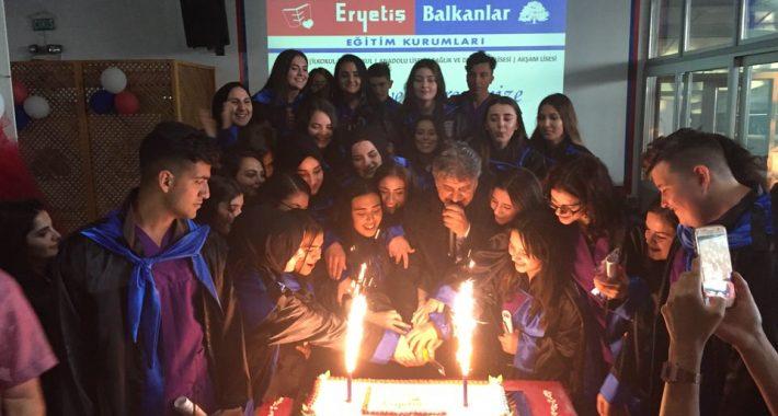"""Özel Nasibe Eryetiş Mesleki ve Teknik Anadolu Lisesinde """"4. Mezuniyet Coşkusu"""""""