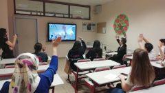 eTwinning Sırbistan ile Video Konferans
