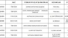 OKULUMUZDA BU HAFTA 2-7 Mart 2020