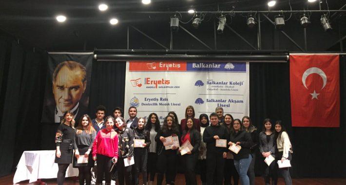 2019-2020 Eğitim-Öğretim Yılı I.Kanaat Dönemi Kapanış Programı Coşku ile Gerçekleştirildi
