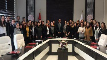 İstanbul İl Milli Eğitim Müdürlüğünde Toplantıya Katıldık