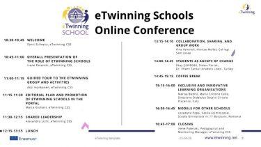 eTwinning Okulları Online Konferansı