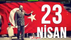 23 Nisan Ulusal Egemenlik Çocuk Bayramı Kutlaması